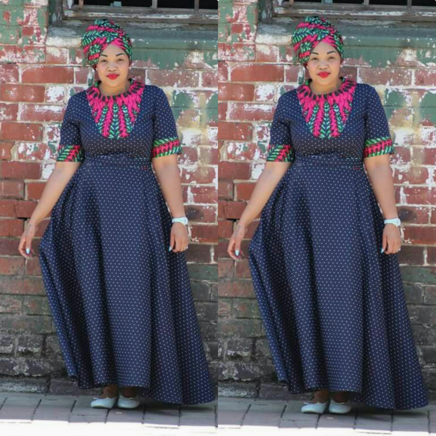 Vitenge Styles For African Woman