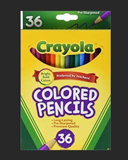 Pensil Crayola Colored