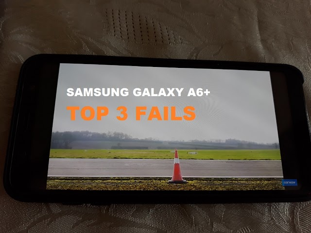 Top 3 things I hate about the Samsung Galaxy A6+