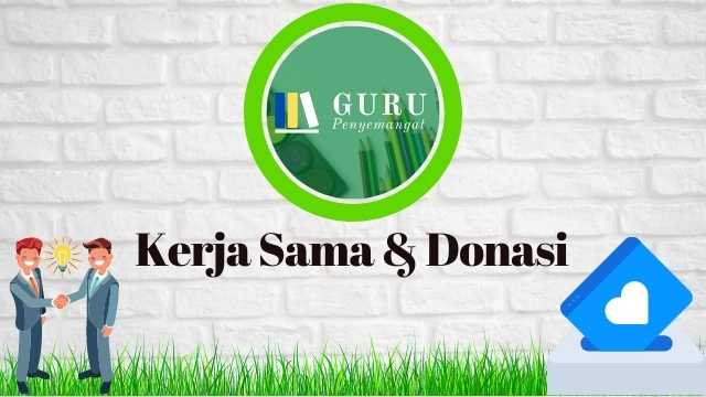 Kerja Sama & Donasi di Gurupenyemangat.com