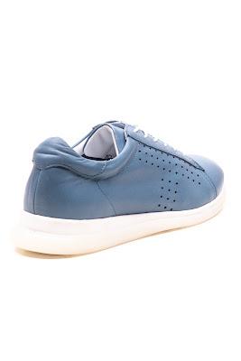 mavi renginde casual bayan ayakkabı
