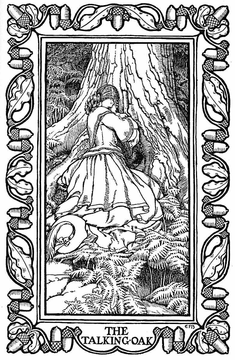 an Elenor Fortesque Brickdale illustrion, the talking oak