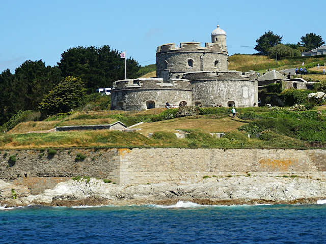 St.Mawes Castle from the river