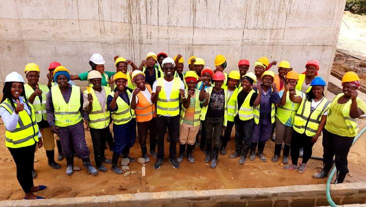 Women in construction Kenya