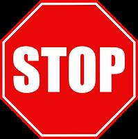 rambu lalu lintas stop