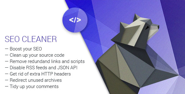 Codecanyon - SEO Cleaner v1 4 - WordPress Plugin for Site Clean Up