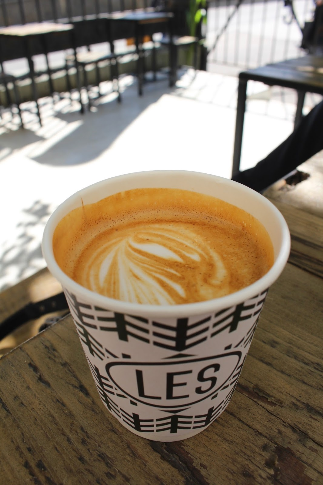 Moscow's best coffee spots - LES coffee