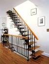 tangga rebah baja harga murah anak tangga kayu
