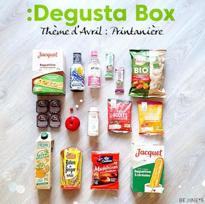 Blog Bejiines - Degusta Box d'Avril 2020 : Box Printanière