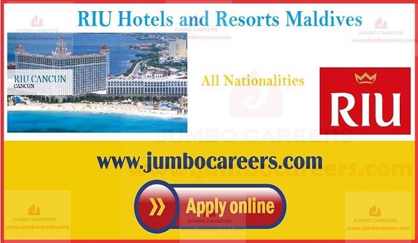 RIU Hotels Resorts Maldives Jobs | RIU Maafushi & Kedhigandu