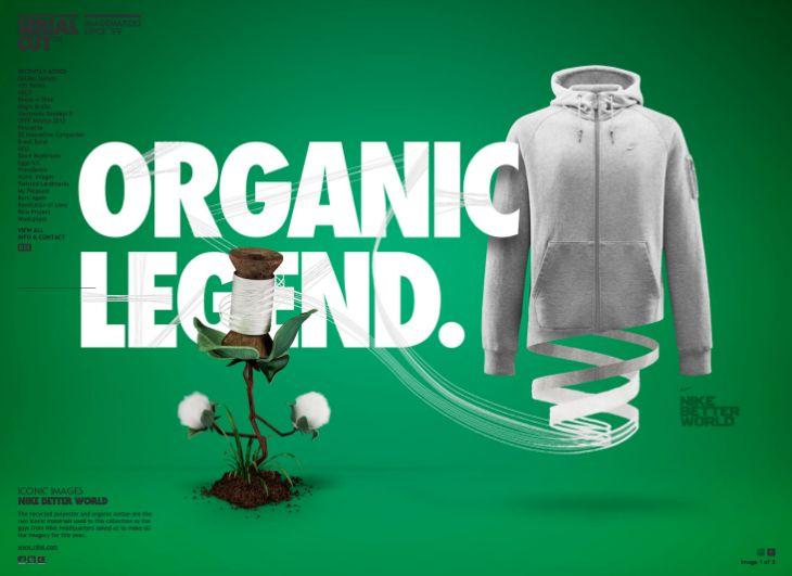 Serialcut - Graphic Design - Organic Legend