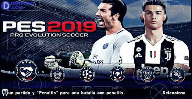 Download dan Install PES 2019 PPSSPP di Android