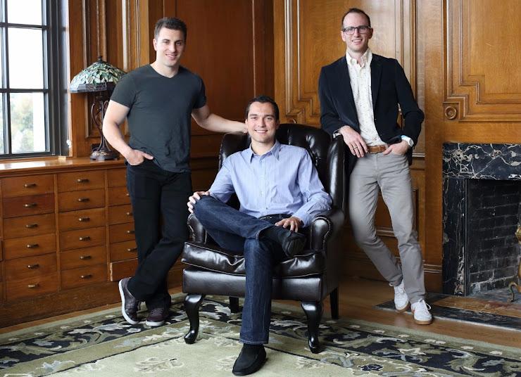 Los fundadores de Airbnb