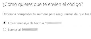 Como comprobar que tu numero movil funciona con Outlook Mail