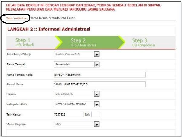 tutorial Daftar STR dan Pembuatan Surat Asterik Registrasi Via Online