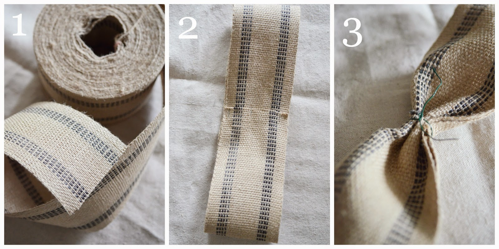 HOW TO MAKE THE PERFECT BURLAP WEBBING BOW - StoneGable