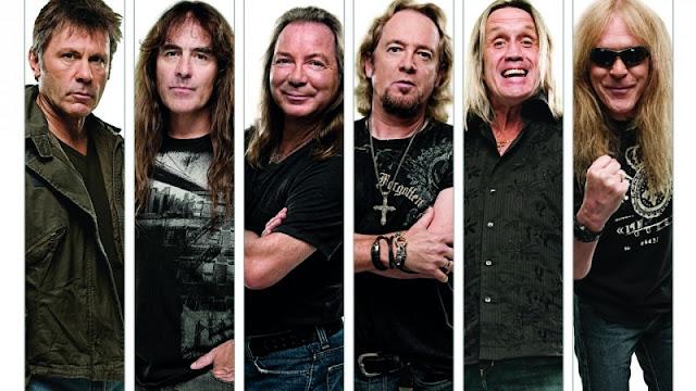 Iron Maiden Band 2018