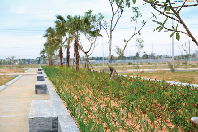 Công viên được xây dựng bên trong dự án Lakeside