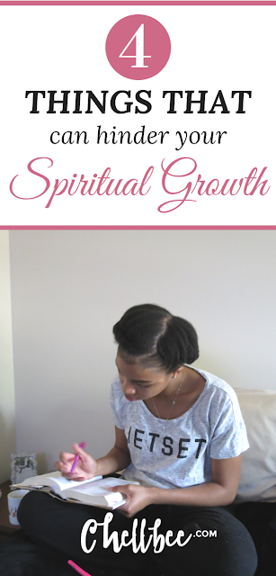 Spiritual Growth | 4 Simple ways you may be hindering your spiritual growth. These are must read and they'll likely surprise you.  Faith | Godly Woman | Christians | Personal development #spiritualgrowth #faith