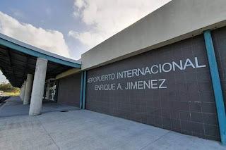 El moderno aeropuerto internacional Enrique Adolfo Jimenz Brin