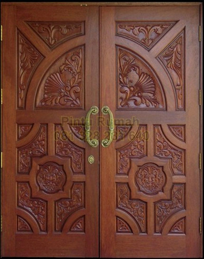 pintu kupu tarung ukiran jepara 4
