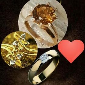 diamond stone engagement rings