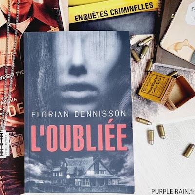 PurpleRain Livre : L'oubliée • Florian Dennisson
