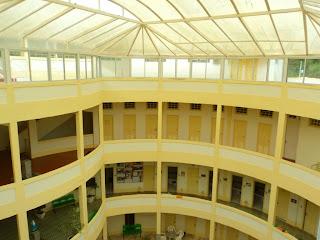 Interior do Balneário Osvaldo Cruz, em Iraí