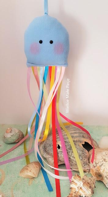 Skarpetkowa Meduza – DIY / Sock Jellyfish – DIY