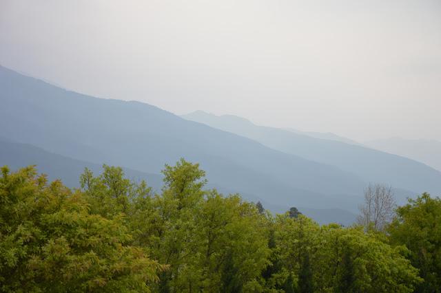 Vallée autour de Dali