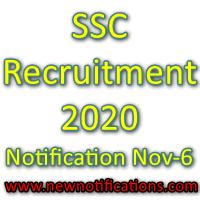 SSC Recruitment 2020:
