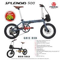 Sepeda Lipat Pacific Splendid 500 Folding Bike