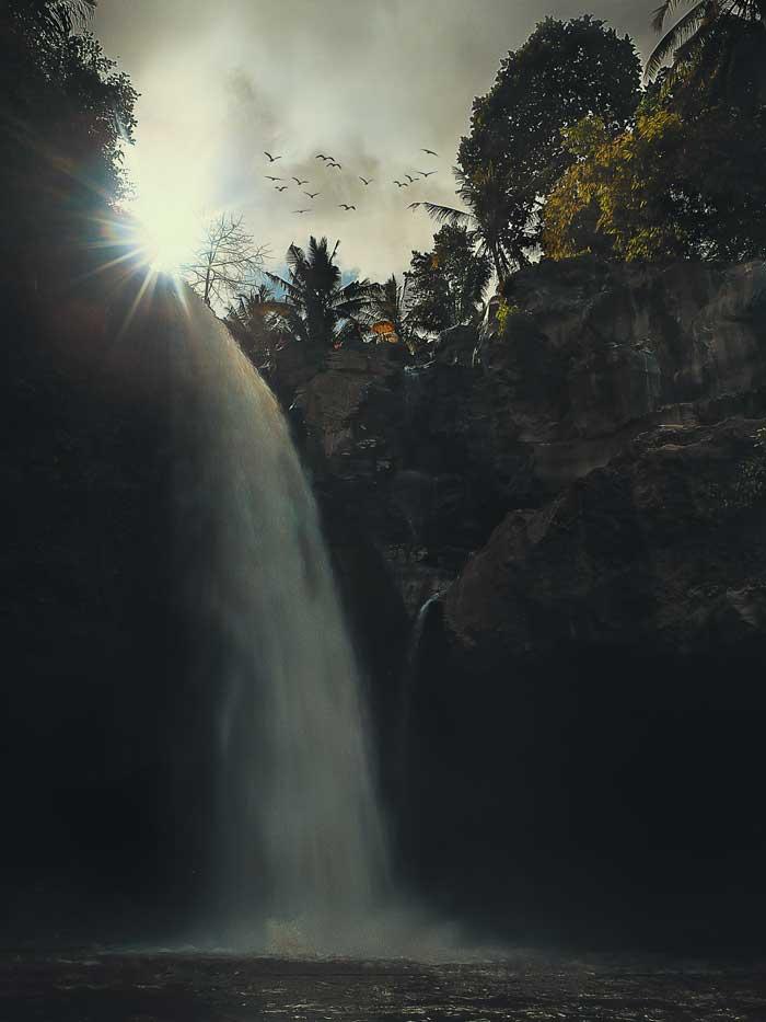 Fasilitas Wisata di Tegenungan Waterfall Bali
