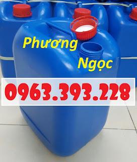 Can nhựa vuông 10 Lít, can đựng hóa chất, can đựng axit 2e46457bd142371c6e53