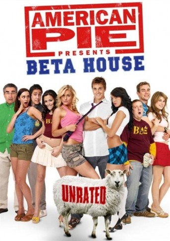 Poster Of (18+) American Pie Presents Beta House 2007 UnRated 720p WEB-DL Download
