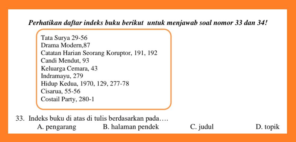 gambar SOAL PAT bahasa indonesia KELAS 8 2021