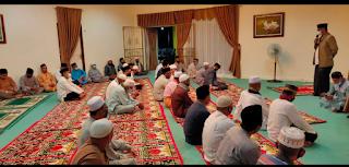 Pjs Bupati Lingga Juramadi Esram Gelar wirid bersama dengan Para Tokoh agama, alim Ulama dan Masyarakat