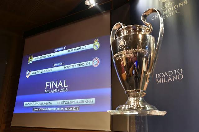Confrontos das semifinais da Champions League 2015-2016