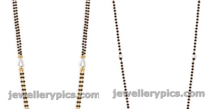 Diamond Karimani Mala Designs At Malabargold Latest