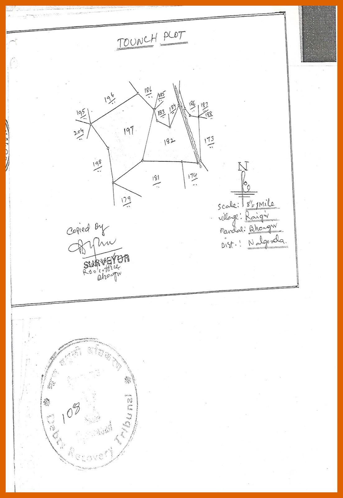 Survey No. 182 and 197 at Yadadri-Bhuvanagiri district-3