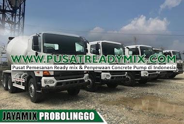 Harga Beton Jayamix Probolinggo Per M3 & Per Mobil Molen 2021