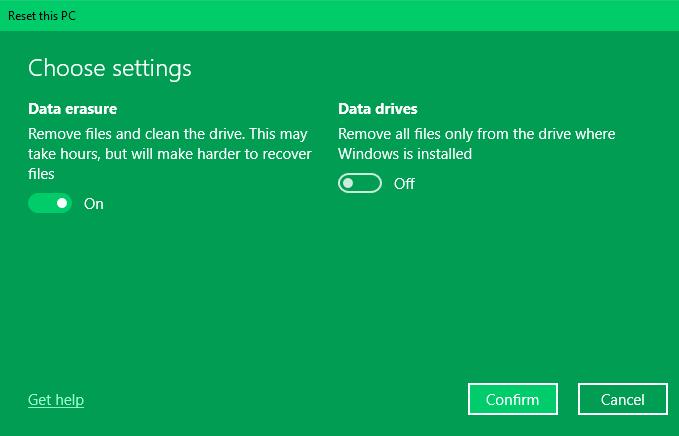 Reset Windows Tanpa Menghapus Data