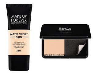Nuovi Matte Velvet Skin Make Up For Ever