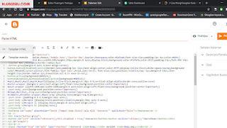 Cara Membuat Halaman Tool Parse HTML di Blogger
