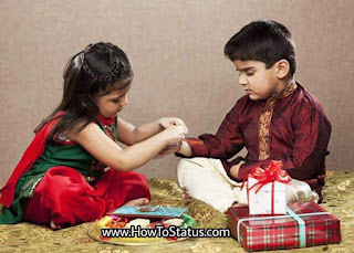 Happy raksha bandhan shayari or status