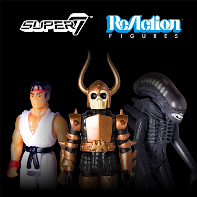 ReAction Figures Leave Funko - Return To Super7