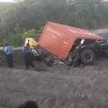 Laka Lantas di Tol Solo - Semarang, Penyebabnya Diduga Truk Trailer Rem Blong, Sopir Tewas Dilokasi