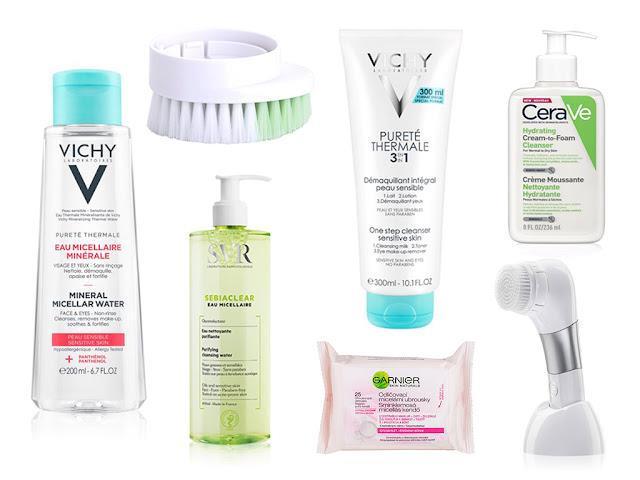 Средства для очищения кожи и снятия макияжа