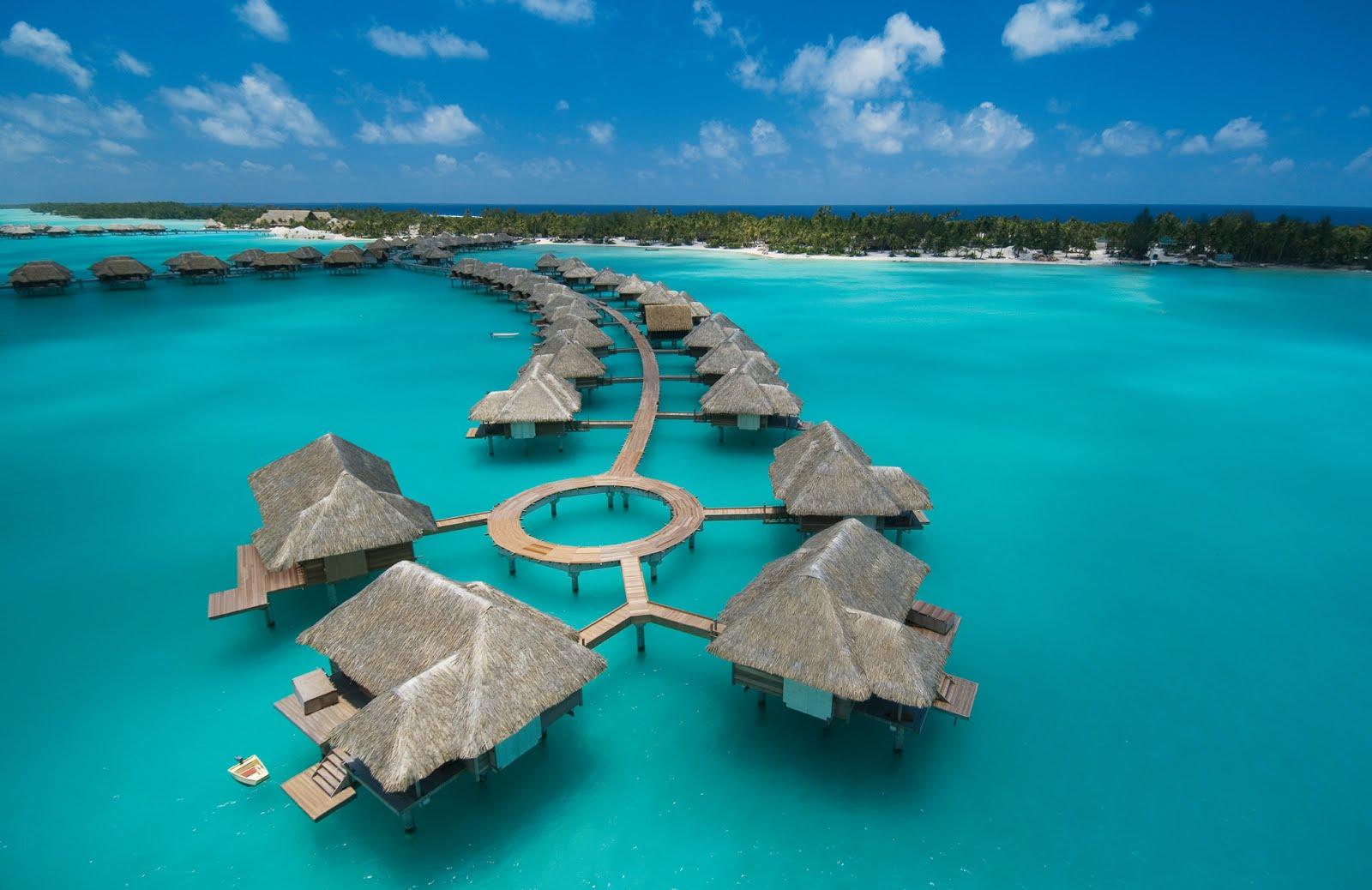 French Polynesia Tahiti Moorea Bora Bora Luxury Resorts