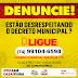 ITIÚBA DISPONIBILIZA TELEFONE PARA DENÚNCIAS EM CASO DE DESCUMPRIMENTO DE DECRETOS